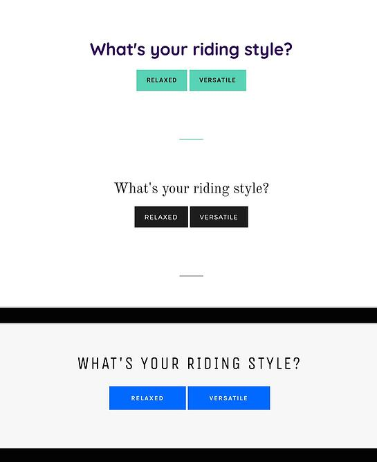 riding-style